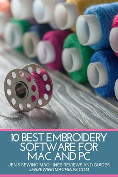 Shopping for the best embroidery software for MAC or PC that 2019 has to offer? Here are the best selling embroidery software options from the best brands on the market today and the top 10 best ranking embroidery digitizing software for this year! #embroiderysoftware #embroidery