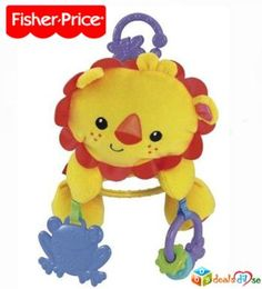Fisher-Price Lion Stroller Plush @ Rs.339/-