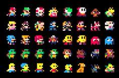 """Résultat de recherche d'images pour """"pixel art personnage"""""""