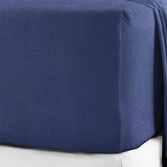 (Double, Navy) - BuyJoy 100 Brushed Cotton Soft Flannelette Fitted for sale online Ottoman, The 100, Home And Garden, Fitted Sheets, King, Colours, Navy, Eyebrow, Fitness