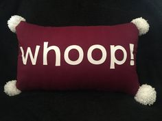 How cute is this pillow?!