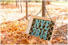 Can't wait to shoot this New Year's Eve wedding! The couple used this prop for their Save the Date photo. Iowa Wedding Photography | CTW Photography