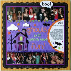 Layout: Ghouls just wanna have fun!