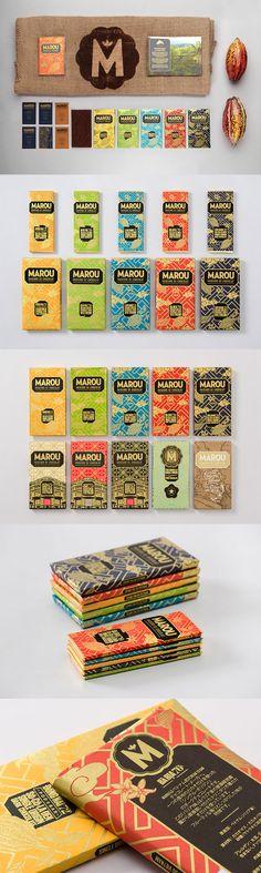 Marou Faiseurs de Chocolat by Rice Creative
