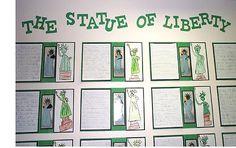 Lady liberty! Creative writer?