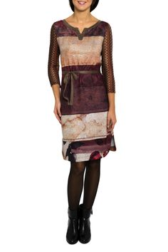 #Smash! jurk met gehaakte mouwtjes #boho #bohemian #autumn #fall16 #trend #seventies #70sboho #fashion #etnisch #paisley #franjes #kwastjes #fringes