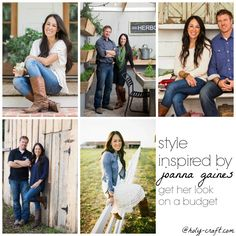 style inspired by Joanna Gaines get the look on a budget