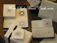 Making Spirograph Gift Cards. Now I have to find one of these! Maybe I still do!!!