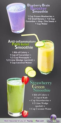 Healthy Smoothies - Musely