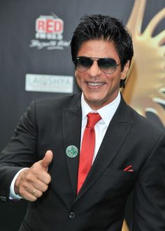 <3 SRK with the smile that lights up your life! <3