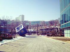 한강진역 날씨 좋다!!