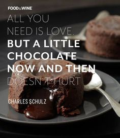 Of course you need chocolate #quote