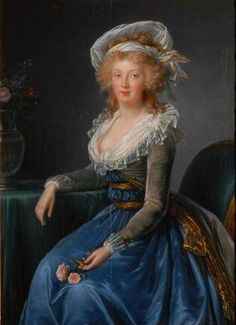 1790 Maria Teresa of Naples and Sicily after Vigée Le Brun