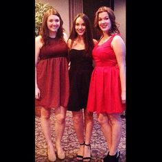 Little red dress event