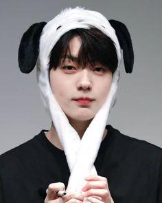 Jungkook The cuteness of the giant rabbit SOOBIN . Be My Baby, Anime Demon, Cute Gif, Loving U, Giant Rabbit, K Idols, Korean Drama, Kpop, My Love