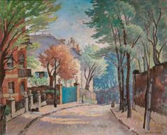 Romney's House, Hampstead, London by Ethelbert White    Date painted: 1940