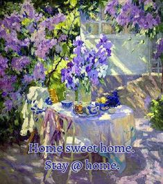Sweet Home, Painting, Art, Art Background, House Beautiful, Painting Art, Kunst, Paintings, Performing Arts