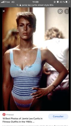 Jamie Lee Curtis Young, Ilona Staller, Most Beautiful Women, Beautiful People, Celebrity Moms, Beautiful Actresses, Pretty Woman, Bathing Suits, Childhood