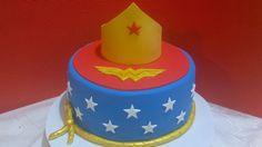 Pastel Mujer Maravilla Paso a Paso, Wonder Woman cake