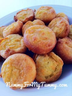 Garlic Cauliflower Mini Muffins - Use less salt than what is called for!