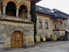 manastirea Cetatuia citadel  monastery fortress Iasi Romania Moldova 2 Moldova, Tuscany Italy, Beautiful Homes, Exterior, Forts, Mansions, Palaces, Country, House Styles