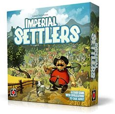 Amazon.com: Portal Games Imperial Settlers: Toys & Games Portal, 51st State, Games To Buy, Barbarian, Romans, Card Games, Egyptians, Empire, Author