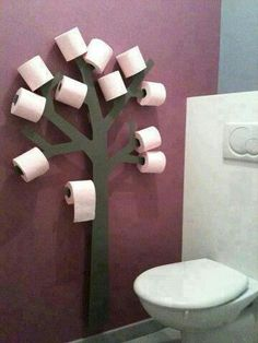 Toilet tree!