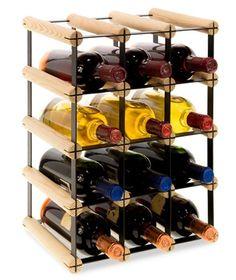 Stojak na wino RW-8 3x4 regał 12 butelek do wina - Seria RW-8 - Regały na wino Wine Rack, Storage, Home Decor, Purse Storage, Decoration Home, Room Decor, Larger, Wine Racks, Home Interior Design