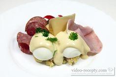 Ruské vejce Eggs, Make It Yourself, Breakfast, Ethnic Recipes, Youtube, Czech Recipes, Egg, Youtubers, Morning Breakfast
