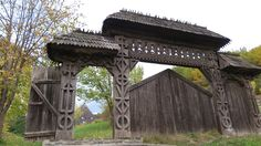 Barsana Maramures Gazebo, Outdoor Structures, Country, Kiosk, Rural Area, Pavilion, Country Music, Cabana