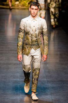 Dolce & Gabbana Spring 2014 Menswear Collection