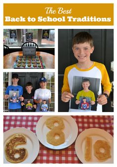 I love all these first day of school traditions, but I especially love the photo idea! #BackToSchool #FirstDayOfSchool 100 Days Of School, First Day Of School, Back To School, Better One, One Day, 100th Day, Family Traditions, Lunches, Teacher Gifts
