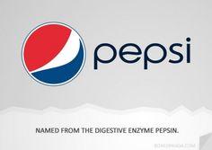 #PEPSI, The origin of brand names