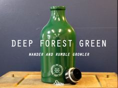 Shine Craft Vessels, the wander and rumble beer growlers