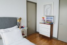 """Check out <a href=""""https://www.homepolish.com/mag/the-ikea-dresser-hack"""" target=""""_blank"""">Casey's dresser hack</a> to see the """"before"""" version of this dresser."""
