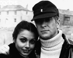 Michael Caine and Wife Shakira