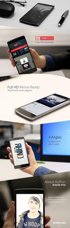 Free OnePlus One MockUp Download HD – Kyz