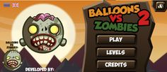 Ayuda a este soldado a lanzar varios globos para poder hacer volar a los zombies y así poder eliminarlos por completo, ten cuidado en no desperdiciar los tiros y trata la manera de hacerlo rápido.