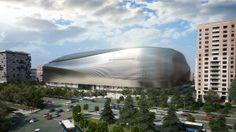 Nouveau design pour le stade du Real Madrid Santiago Bernabéu