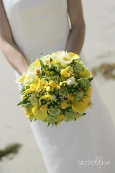 Yellow bouquet idea