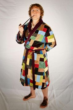 So Steady as She Sews: Project Summary: Bilbo's Dressing Gown from The Hobbit: An Unexpected Journey (2012)