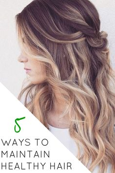 These ideas are great! You'll have fun trying these, especially when you start seeing your healthy locks!! / #HealthyHair / http://www.bloody-fabulous.com/blog
