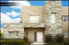 9 great ideas to cover the stone walls. Your house will have a unique and modern style! Natural Stone Wall, Casa Patio, Stone Cladding, Exterior House Colors, Facade House, Home Decor Trends, Unique Home Decor, Modern Minimalist, Old Houses