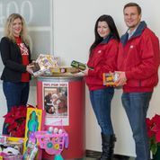DKI supported the US Marines' Toys for Tots Program in San Ramon, CA Bishop Ranch.