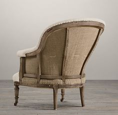 DECONSTRUCTED FRENCH NAPOLEONIC CHAIR $1095 - $1485. Via Restoration Hardware. Swoon.