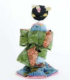 Origami Geisha(Japanese Paper Doll)