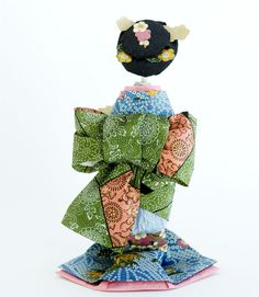Origami Geisha(Japanese Paper Doll)
