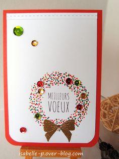 Des cœurs en quilling et diverses cartes de Noël