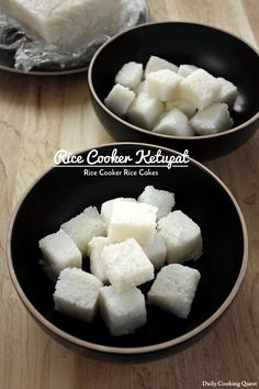 Rice Cooker Ketupat – Rice Cooker Rice Cakes – Daily Cooking Quest