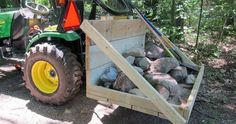 Build Your Own Tractor 3 Point Hitch Carry-all. by Patrick Makowski